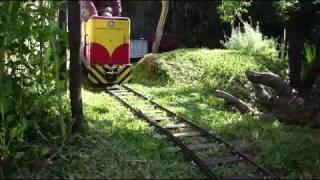 Ride-on backyard railroad (2) - Layout tour
