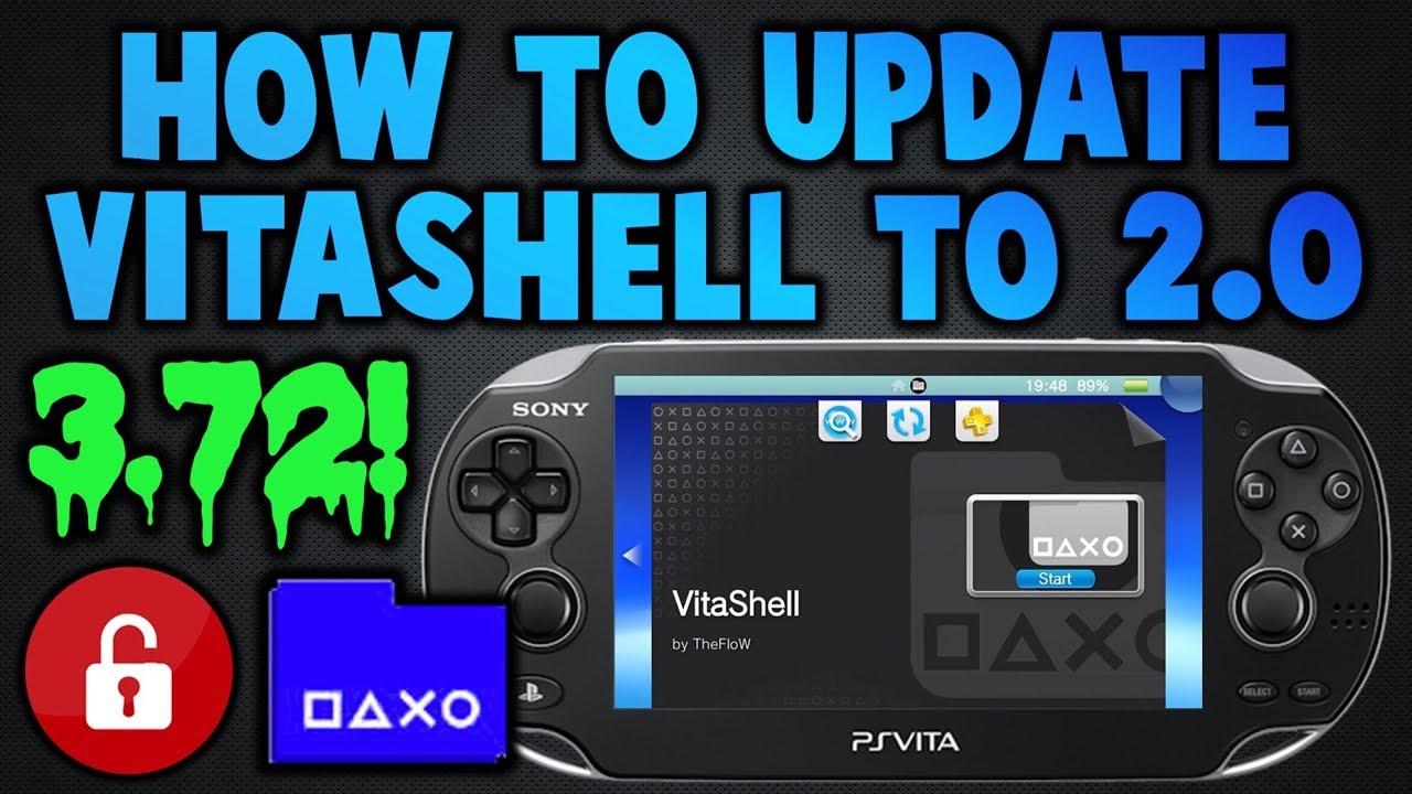PS Vita Updating VitaShell To Version 2 0! (3 72 Update)
