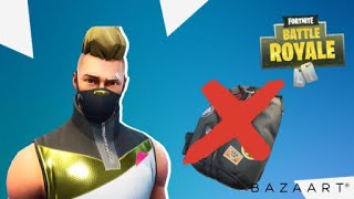 How to take the backpack from the skin Season 5 Fortnite