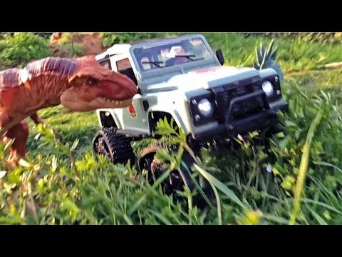 Toy LAND ROVER Rc DINOSAUR Attack! Jack's JURASSIC Zoo