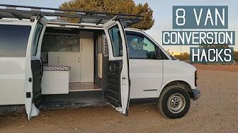 VAN LIFE/ VAN CONVERSION IDEAS - YouTube