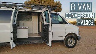 Van Life: 8 Campervan Conversion Hacks for Your Van Build