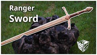 Making a Wooden Ranger Sword