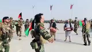 ملی اردو اتڼ / Afghan Military Attan