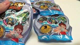 QR Codes And Yokai Watch Medal Unbagging 3