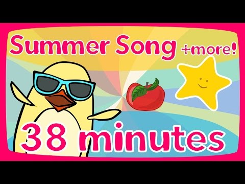 Summer Song + more | Kids Song Compilation | The Singing Walrus