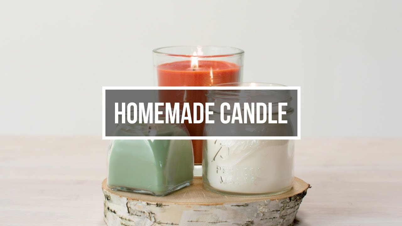 Homemade candles: Holiday gift craft