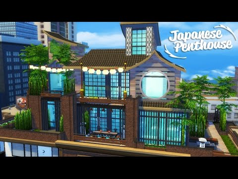 Sims 4 Speed Build | Japanese Penthouse