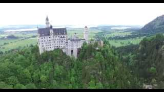 Neuschwanstein castle in 4K with DJI INSPIRE 1 Quadcopter(Hi guys in this little video we present you our footage of the new DJI INSPIRE 1 we took at Castle Neuschwanstein for you. I hope you like it., 2015-05-26T00:30:01.000Z)