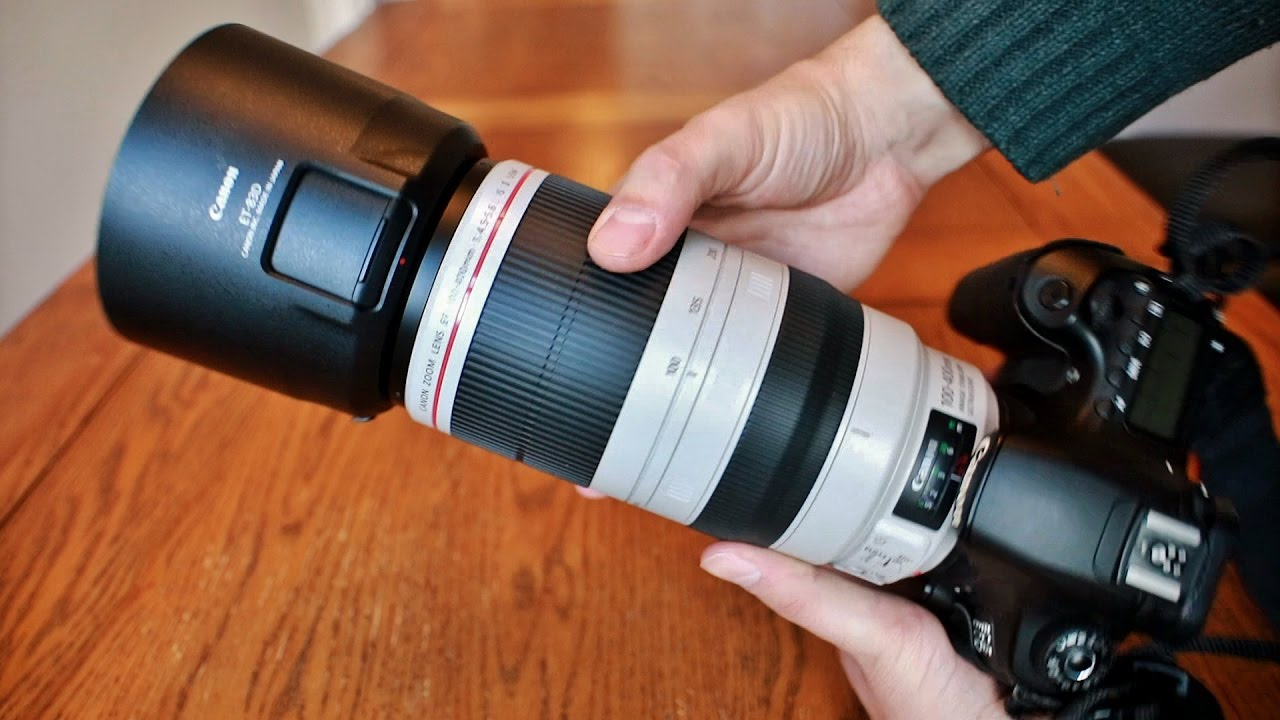Canon Ef 100 400mm F 4 5 5 6 Is Usm L Ii Lens Review With Samples Full Frame And Aps C Youtube