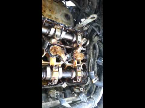 2009 Mitsubishi Lancer with Engine Sludge part2