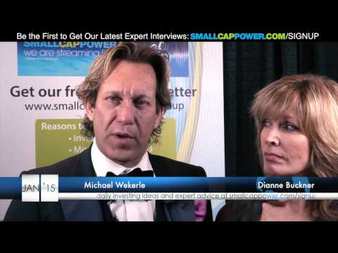 Dragons Dens' Michael Wekerle & Dianne Buckner ed by SmallCapPower at Cantech 2015