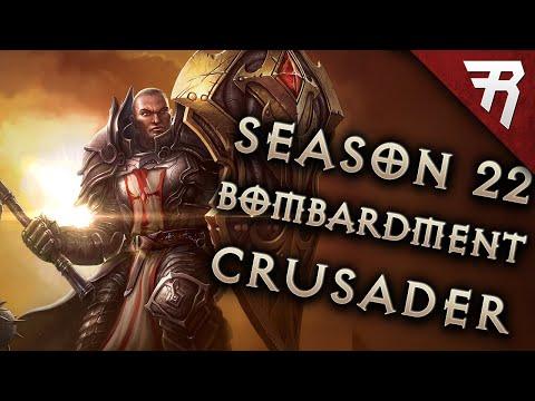 Diablo 3 2.7.0 Crusader Build: Akkhan Bombardment GR 145+ (Season 23 )