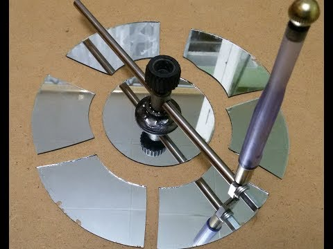 Как и чем вырезать круглое  стекло малого размера?