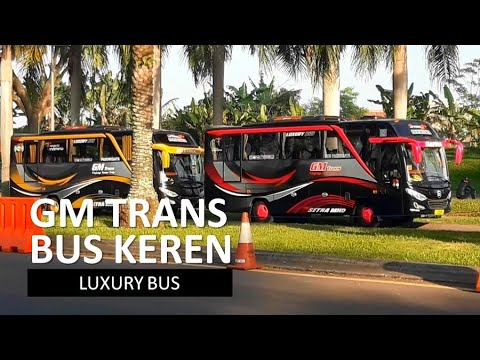 Bus Keren Penampakan Bus Gm Trans Bus Pariwisata Luxury Bus Di Kbp Bandung Youtube