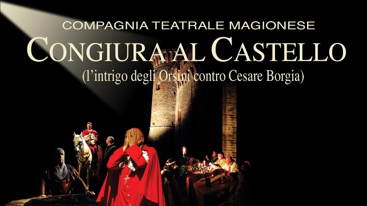 Risultati immagini per congiura al castello magione