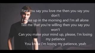 Shawn Mendes Patience (Lyrics)