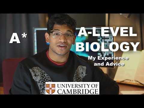 A LEVEL BIOLOGY - My Grades and Experience