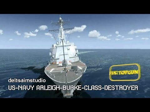 US-NAVY ARLEIGH-BURKE-CLASS-DESTROYER (FSX)