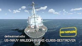 US-NAVY ARLEIGH-BURKE-CLASS-DESTROYER (FSX)