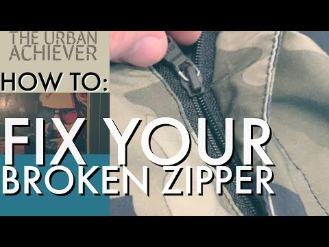 How To Fix Your Broken Zipper - How To Part 1