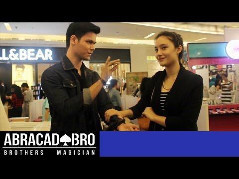 Ngajak Nge-date Artis Tatjana Saphira ( Sulap Gagal ?? ) - abracadaBRO Magic Prank Indonesia