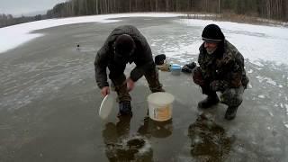 Очередная рыбалка на неизвестном озере