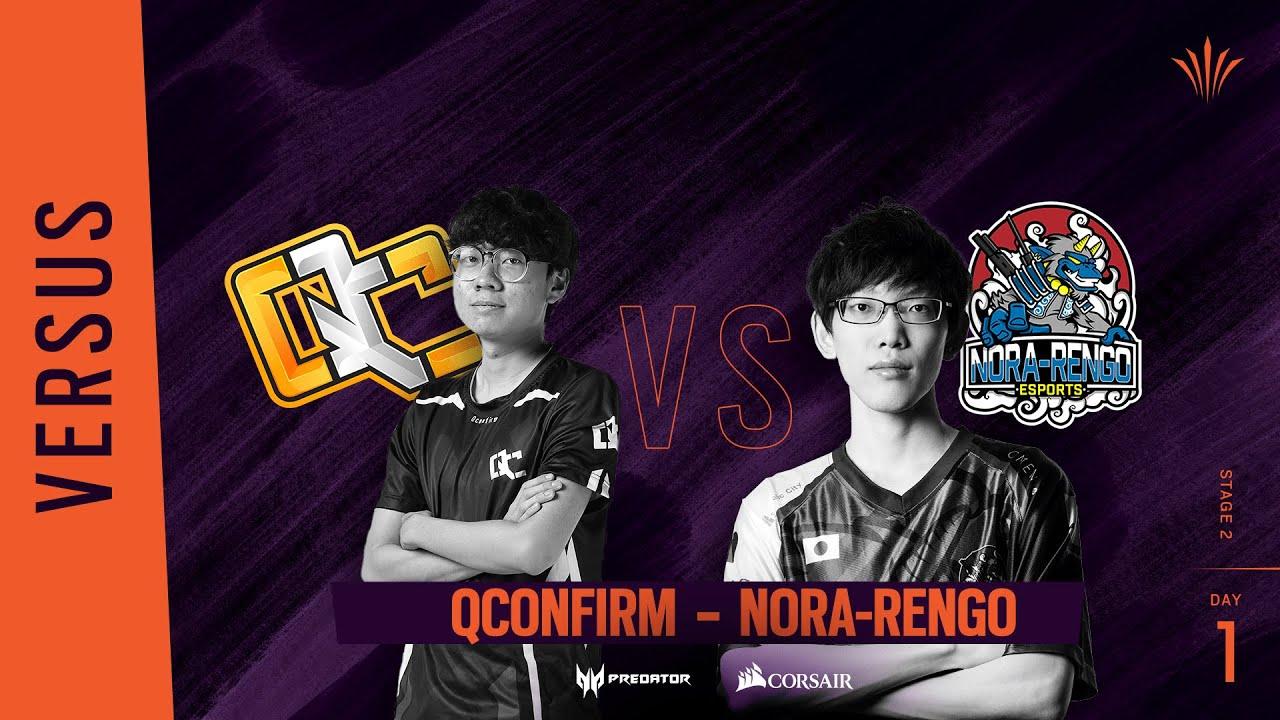 QConfirm vs Nora-Rengo // Rainbow Six APAC North Division 2020 - Stage 2 - Playday #1