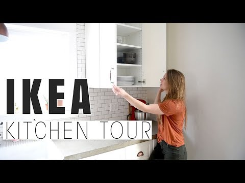real-working-ikea-kitchen-tour-|-organization,-functionality-&-affordability