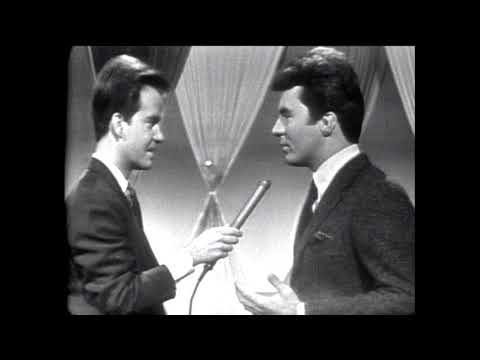 American Bandstand 1965- Interview James Darren