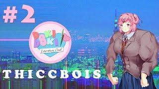 Doki Doki Literature Club!: Futanari Pegging - Part 2 - THICCBOIS
