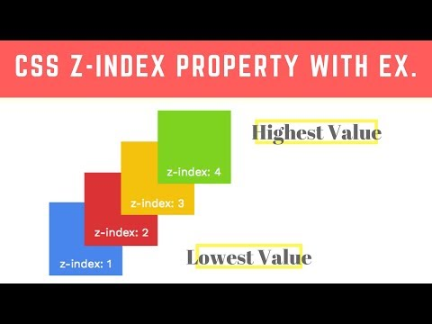 Programming Tip Of The Day #14: Z-Index In CSS In Hindi