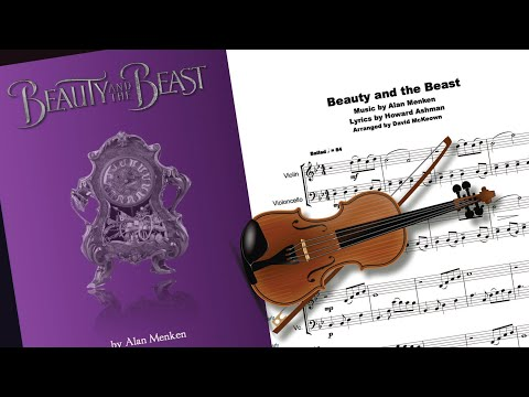 Beauty and the Beast, Violin and Cello Duet