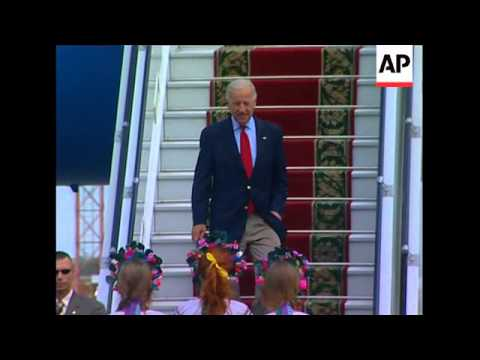 US vice president arrives for visit
