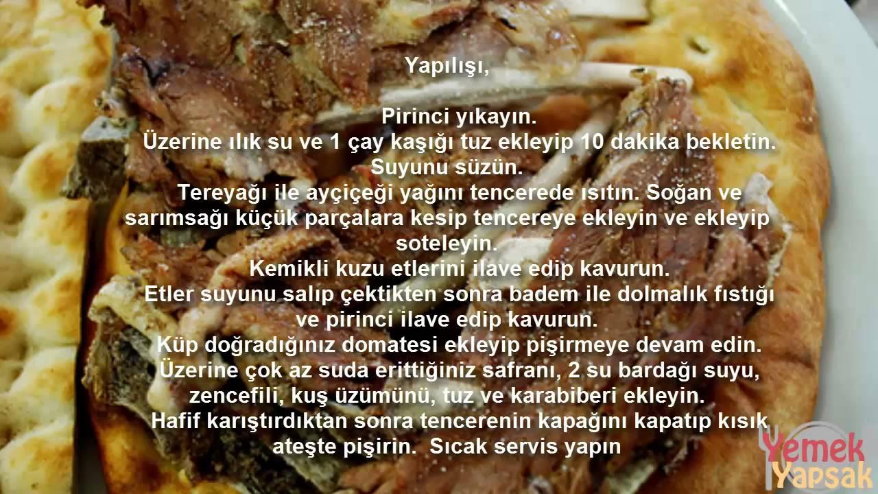 Ev Usulü Büryan Kebabı Videosu