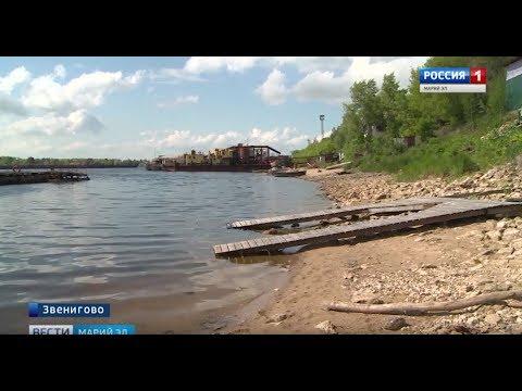 В Звенигове началась реконструкция набережной