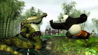 Kung Fu Panda, Dessin Animé Pour Les Petits Enfants