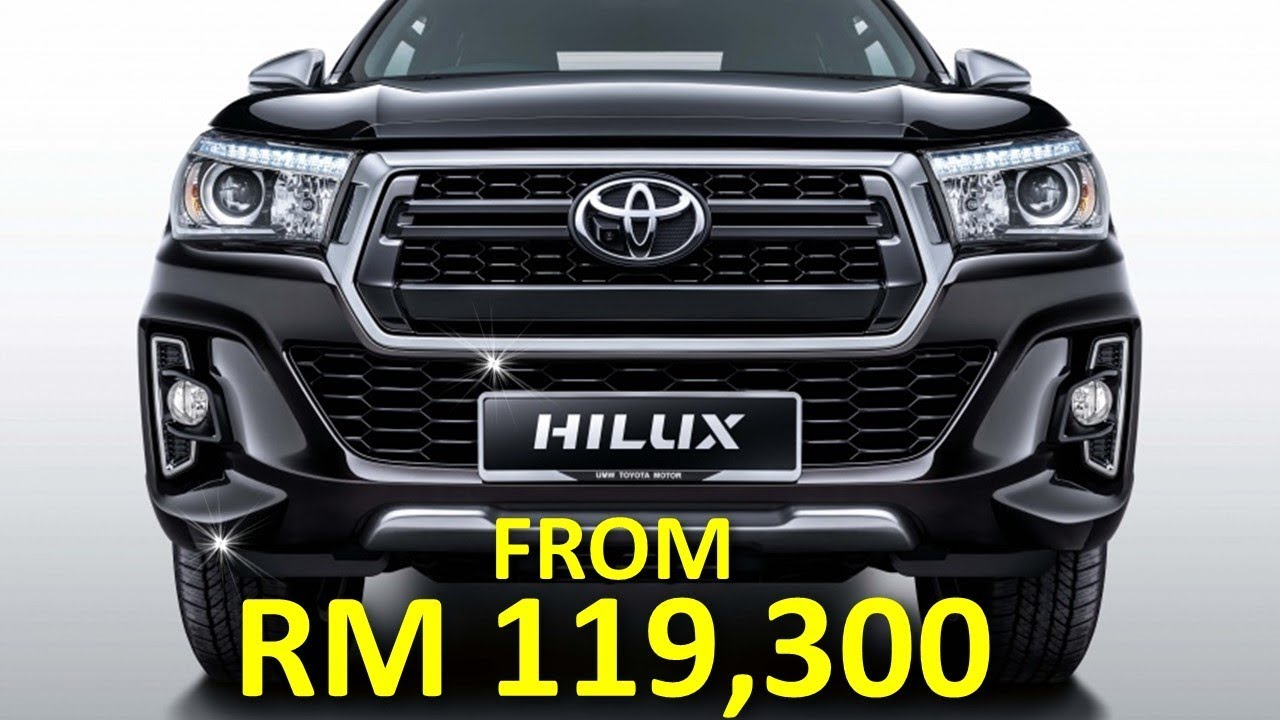 2018 Toyota Hilux Facelift Debuts In Malaysia With Two L Edition