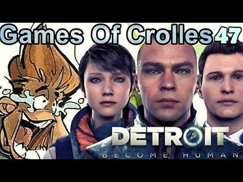 Les ANDROÏDES au pouvoir ! Detroit Become Human / Games Of Crolles - Emission 47 / Radio Gresivaudan