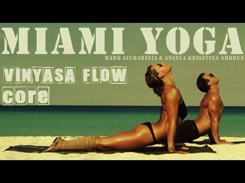 Yoga Workout On The Beach - (50 min No Music) Miami Beach Classics