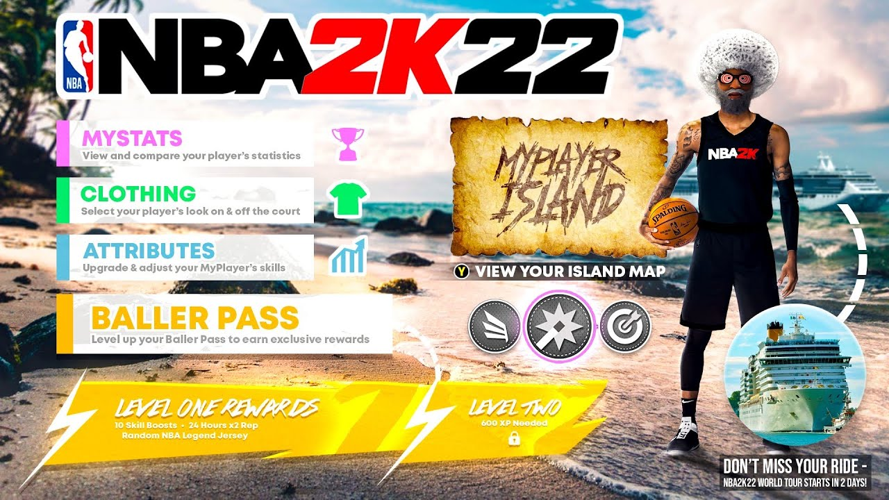 NBA 2K22 REWARD SYSTEM