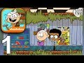 LOUD HOUSE ULTIMATE TREEHOUSE - Gameplay Walkthrough Part 1 - Games For Kids