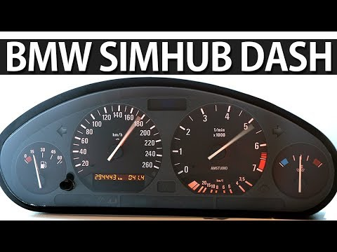 HOW TO WIRE BMW SPEEDO CLUSTER FOR SIMULATOR | SIMHUB