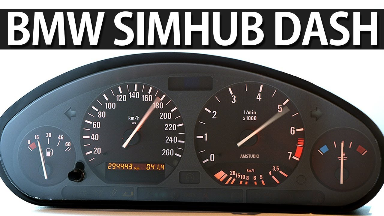 how to wire bmw speedo cluster for simulator simhub [ 1280 x 720 Pixel ]