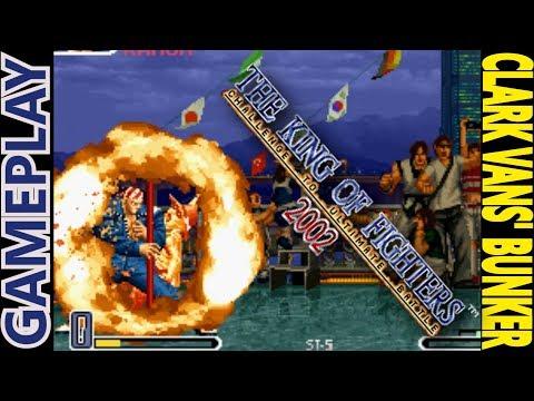 KOF 2002 GAMEPLAY: Clark Vans hace otro ONE COIN EN NIVEL 8 Y ROULETTE
