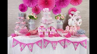 Manualidad | Mesa Baby Shower