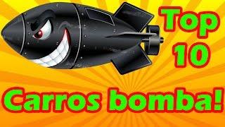 TOP 10 carros BOMBA no Brasil!