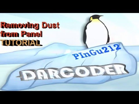 Remove Dust Hairs Insect inside screen monitor clean display laptop Tutorial