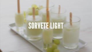 Sorvete light – Receitas Saudáveis – Lucilia Diniz