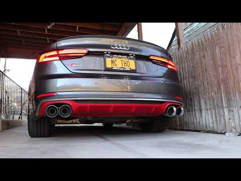 2018 Audi S5 B9 Sportback W/ AWE Track Exhaust
